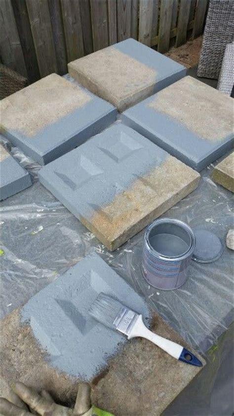 gordijnen verven action stoeptegels bewerken met beton verf van de action