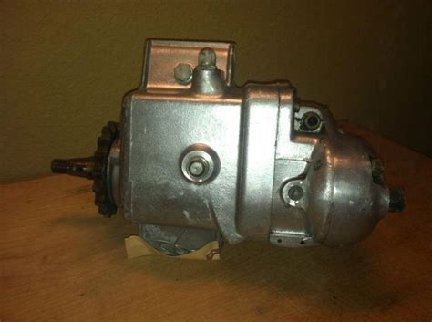 Find Vintage 1958 Triumph Motorcycle Transmission Gearbox