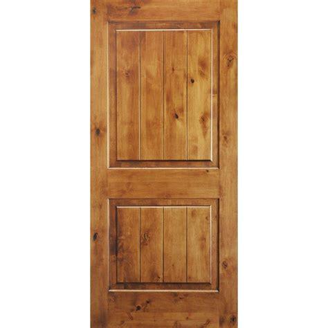 krosswood doors 18 in x 80 in knotty alder 2 panel