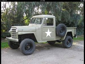 1952 Jeep Willy U0026 39 S Pick Up For Sale  Photos  Technical