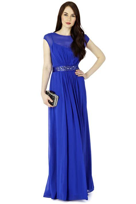 lori maxi dress cobalt blue from coast bridesmaid - Maxi Bridesmaid Dresses