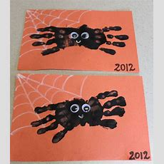 Hand Print Spider Halloween Craft Ipinnedit