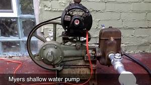 Myers Shallow Well Pump