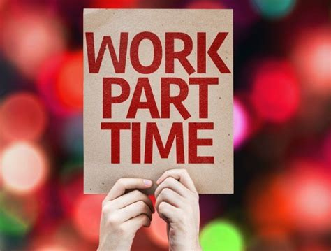 part time for 5 well paid part time jobs best part time jobs moneynuggets