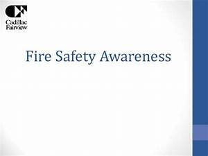 Fire safety awareness sections 7 11