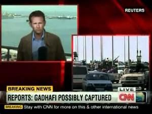 CNN BREAKING NEWS: Muammar Gaddafi captured in Sirte - YouTube