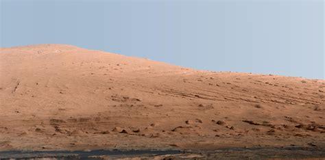 A Clear Blue Sky On Mars