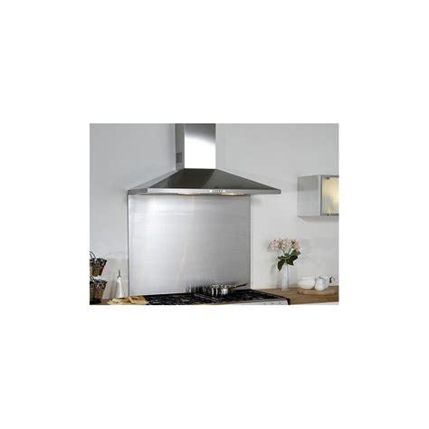 fixation plan de travail cuisine credence de cuisine en acier inox fond de hotte