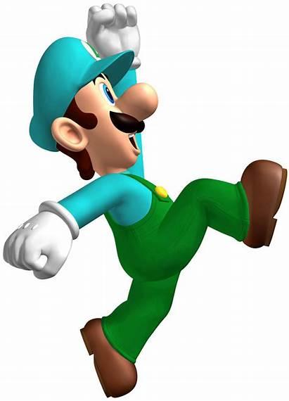 Luigi Mario Ice Wikia Fantendo