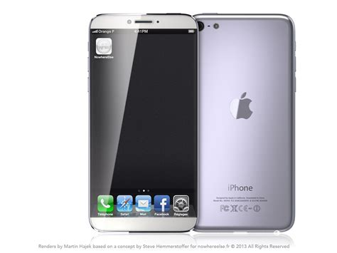 newest iphone out new iphone 6 concept features 4 8 inch edge to edge display