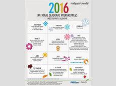 Graphic Ready 2016 National Seasonal Preparedness