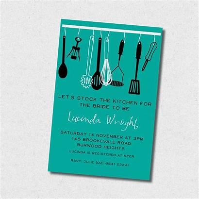 Tea Kitchen Invitation Bake Party Invitations Dee