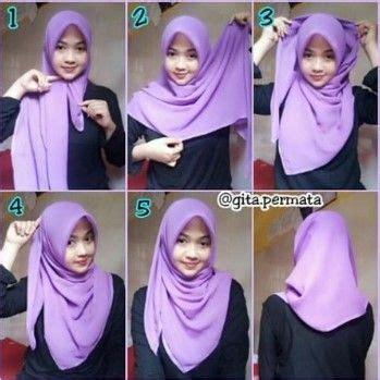 tutorial hijab pashmina simple  remaja terbaru stylish hijab