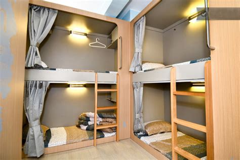 Stylish Hostel Bunk Beds Rental