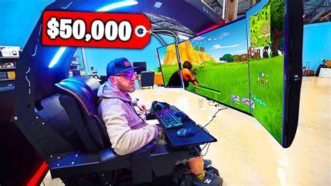 top   expensive fortnite gaming setups youtube