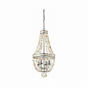 Style selections light polished chrome chandelier