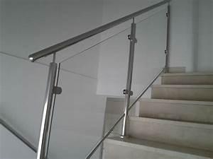 Treppengeländer Mit Glas : treppengel nder aus edelstahl va nirosta aston inox ~ Markanthonyermac.com Haus und Dekorationen