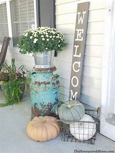 Front, Porch, Ideas, For, Fall