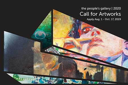 local artists apply peoples gallery exhibition