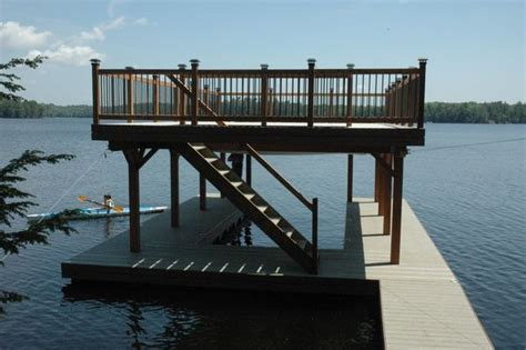 Free Floating Boat Dock Plans by Covered Boat Dock Plans Floating Boathouse Lake Ideas