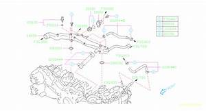 2017 Subaru Crosstrek Gasket