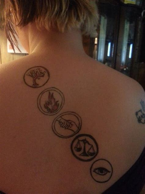 Divergent Tattoos Of The Factions  Divergent Pinterest