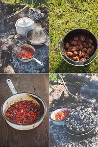 something...: Храна на открито: Кюфтенца в сладко кисел ...