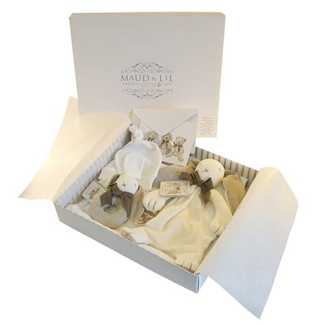 Birthday, thank you, get well, new home, new baby, sympathy Maud N Lil Organic Cotton Luxury Baby Gift Box Set Baby ...