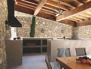Cuisine d'extérieur inox, mobile, design, barbecue, plancha Côté Maison