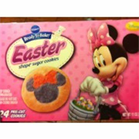 * the % daily value (dv) tells you how much a nutrient in a serving of food contributes to a daily diet. Pillsbury Ready To Bake Shape Easter Sugar Cookies ...