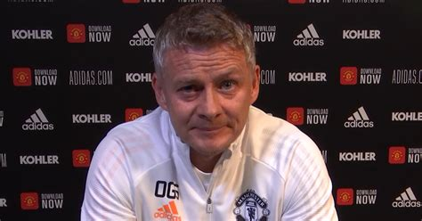 Manchester United press conference RECAP Ole Gunnar ...