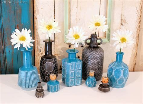 Diy-spray Paint Glass Decanters For Home Decor-petticoat