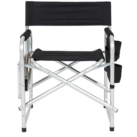 bcp aluminum folding picnic cing chair w table tray