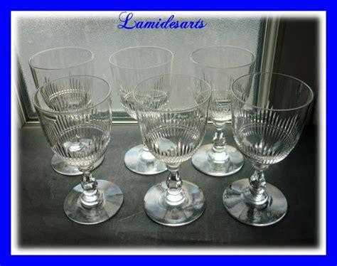 bicchieri baccarat catalogo 6 bicchieri di in cristallo baccarat catalogo