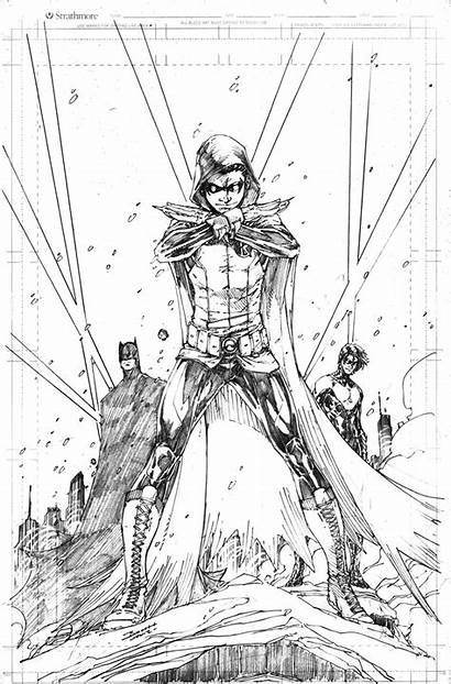Robin Batman Brett Booth Damian Wayne Nightwing