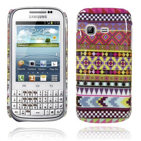 samsung galaxy ch t chat b5330 tribal retro vintage multi coloured ebay