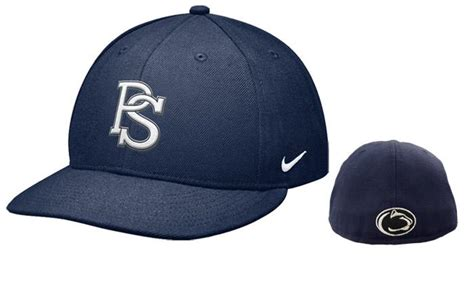 penn state nike fitted baseball hat headwear hats fitted