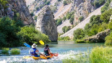 weekend zrmanja river kayaking trip raftrek adventure travel
