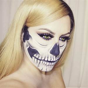 Skull Face Makeup Pictures, Photos, and Images for ...