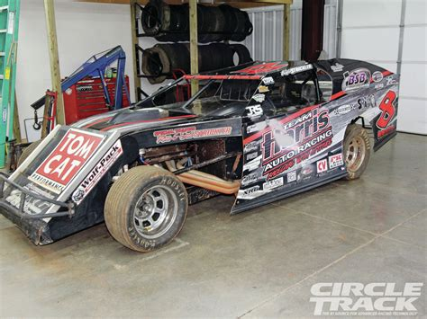 modified race cars tech chassis aerodynamics for dirt racers rod network