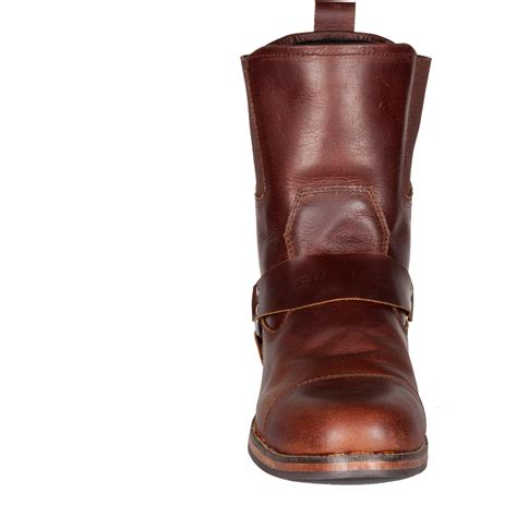 cruiser motorbike boots spada kensington motorcycle boots brown leather motorbike
