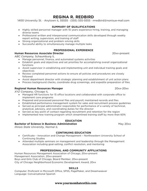 Proffessional Resume by Varieties Of Resume Templates And Sles
