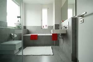 Bad Graue Fliesen : 106 badezimmer bilder beispiele f r moderne badgestaltung ~ Frokenaadalensverden.com Haus und Dekorationen
