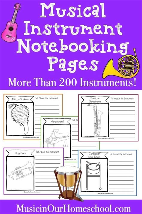 Lesson plans that link the arts with music as well as step by step how to make musical instruments. 15-Minute Music Lesson About Instruments Around the World - Music in Our Homeschool