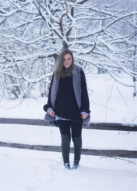 Winter Outfit Canadian Fashion Blog In My Dreams