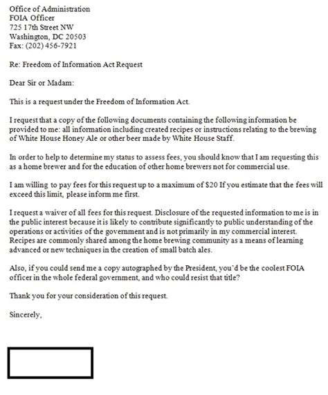 foia request white house recipe freedom of information act request filed for obama s brew huffpost