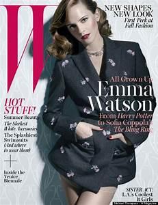 Emma Watson In W Magazine: 'I Wanted To Wear A Sportsbra ...