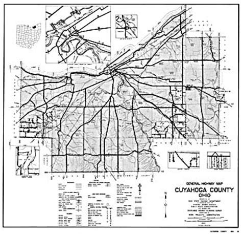 ohio county highway maps