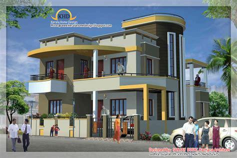 duplex house elevation indian home decor