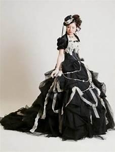 gothic wedding dresses weddbook With black gothic wedding dress